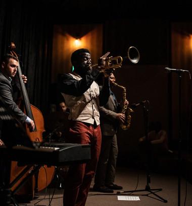 Giveton Gelin Quintet at Island House, June 2019