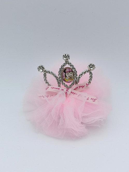 Mickey Princess hair clip PINK