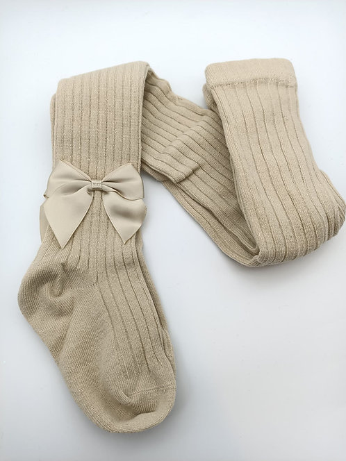 Nude Stocking with a Bow