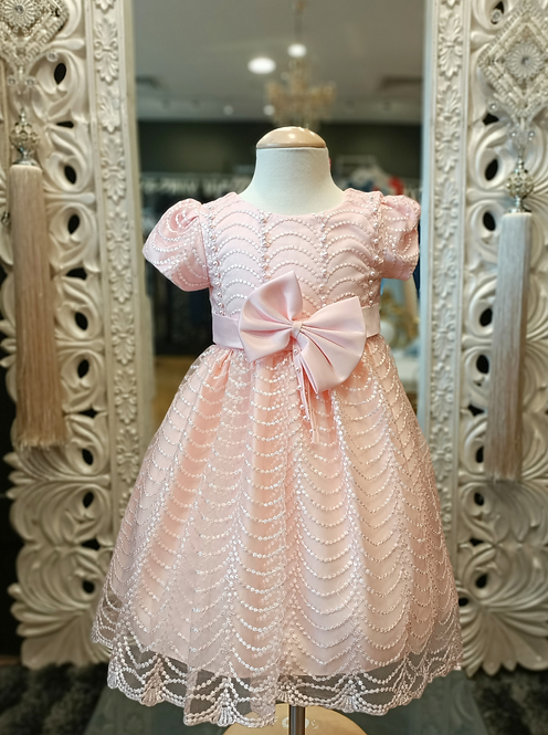 MARYAM peach Dress