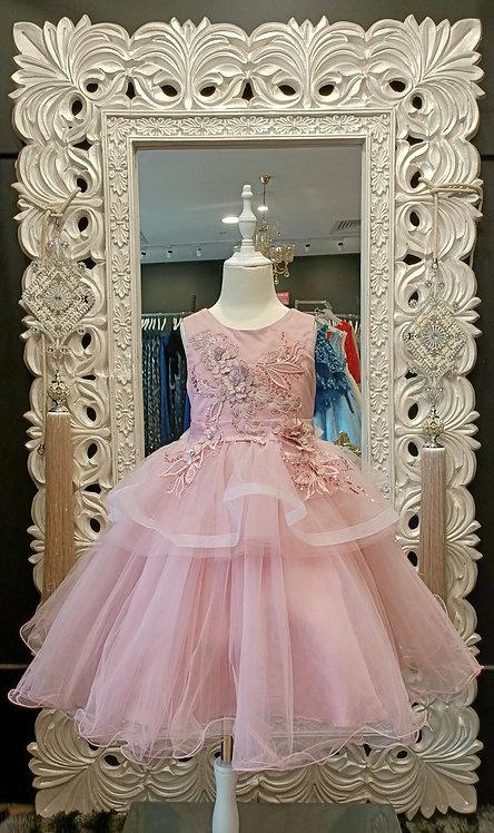 BARBARA Dusty Pink Dress