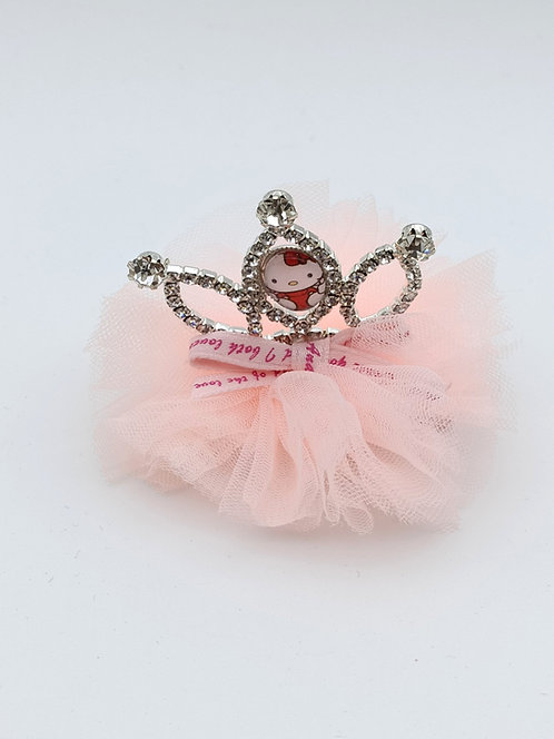 Hello kitty princess hair clip Blush