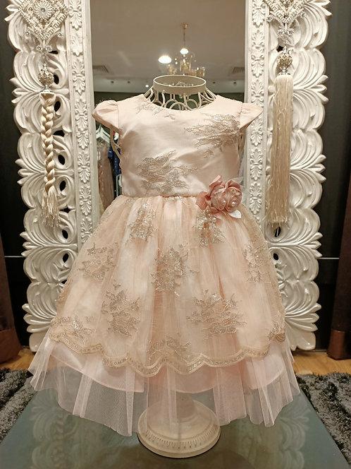 Sunny Peach Dress