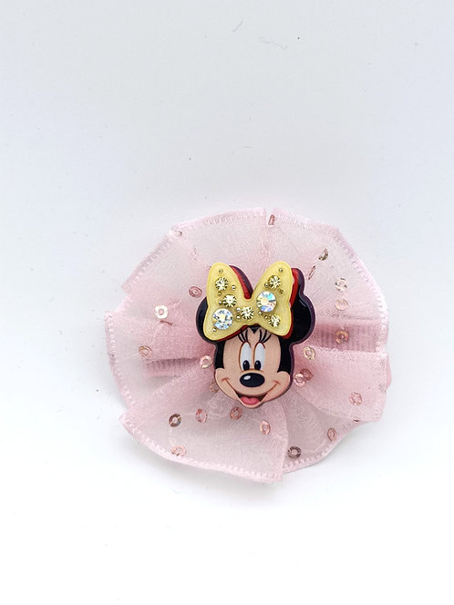 Mickey Mouse hair clip PINK
