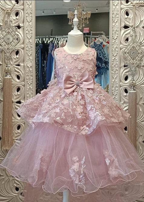 SIENNA Dusty Pink Dress