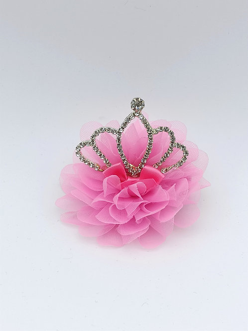Crown Hair clip PINK