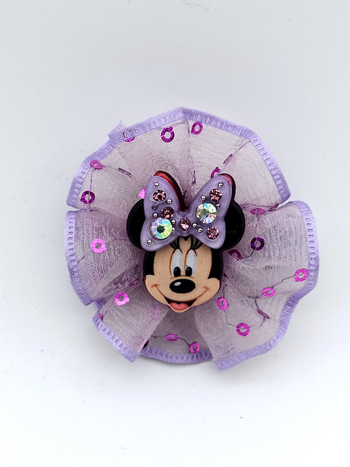 Mickey Mouse hair clip PURPLE