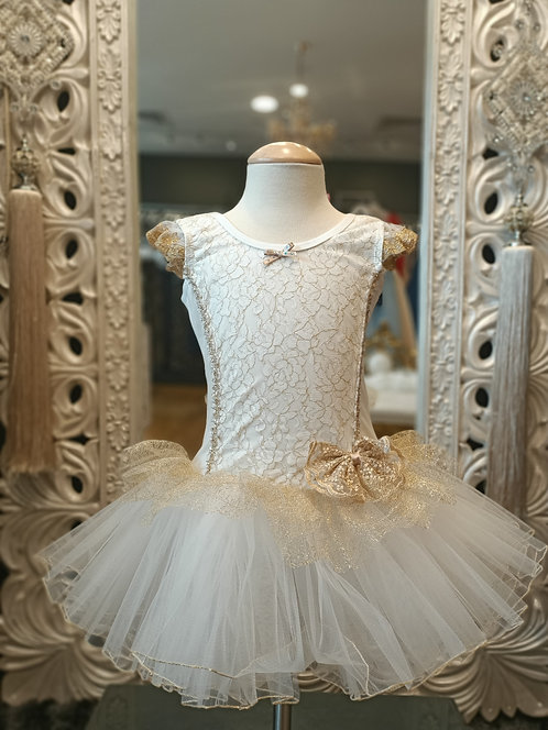 MILLIE Gold/White Tutu