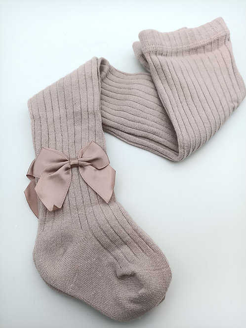 Pink Stocking with a Bow