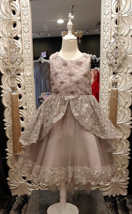 Kristina High-Low Purple Dress