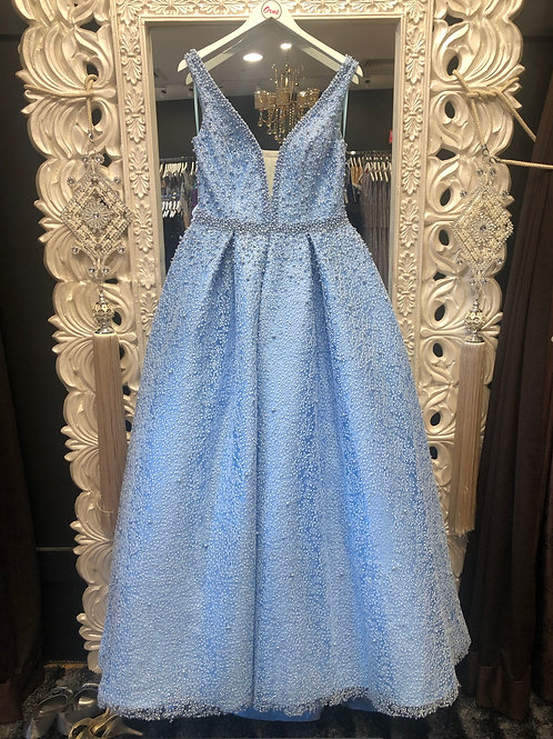 Full pearl Gown