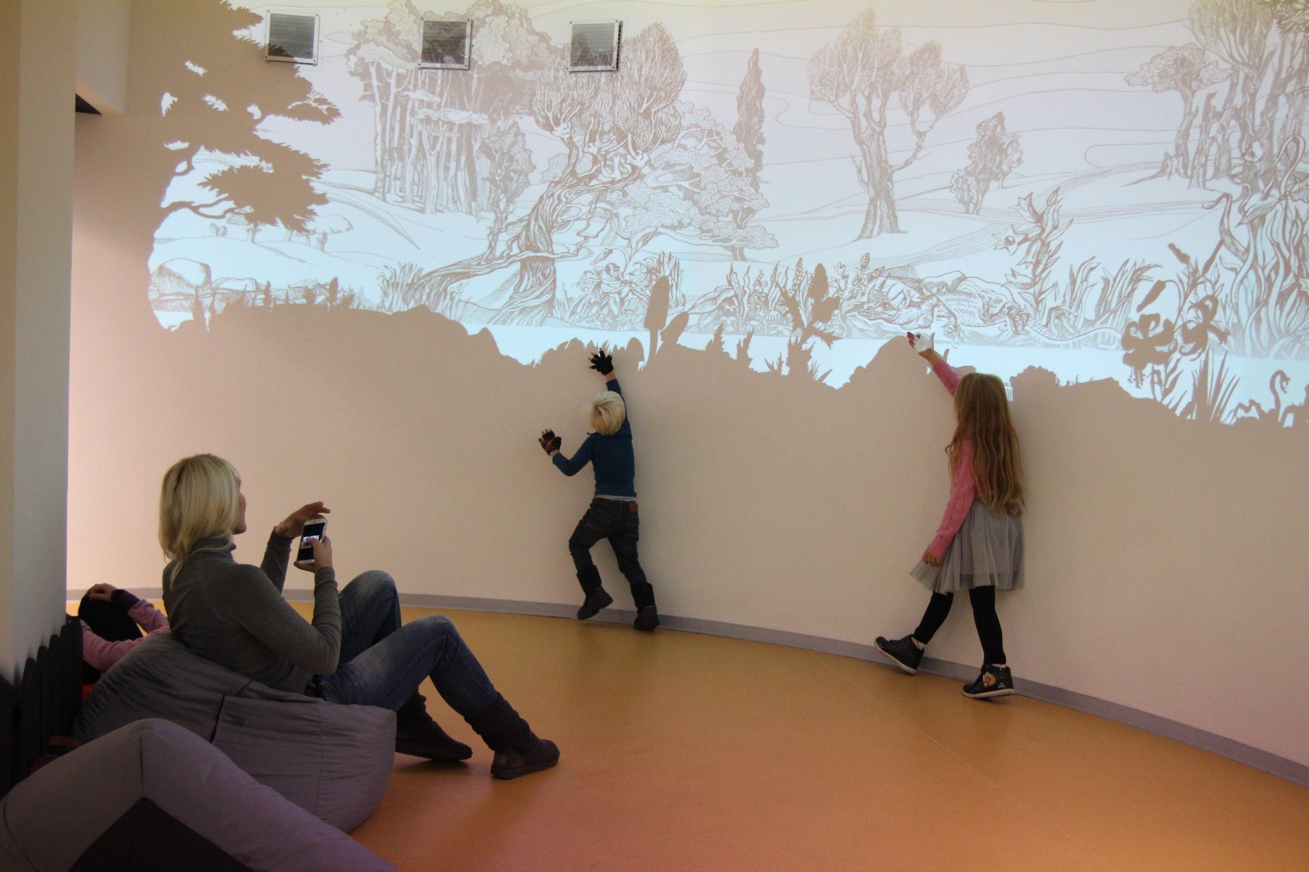 Панорамная интерактивная проекция