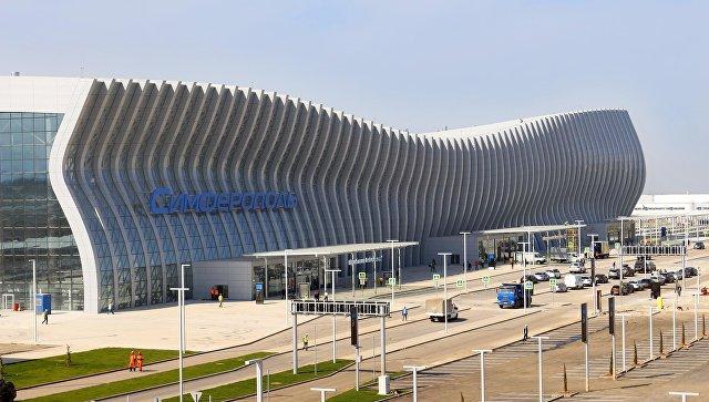 Новый аэоропорт Симферополя
