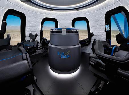 В интернете появились первые фото корабля Blue Origin для космического туризма