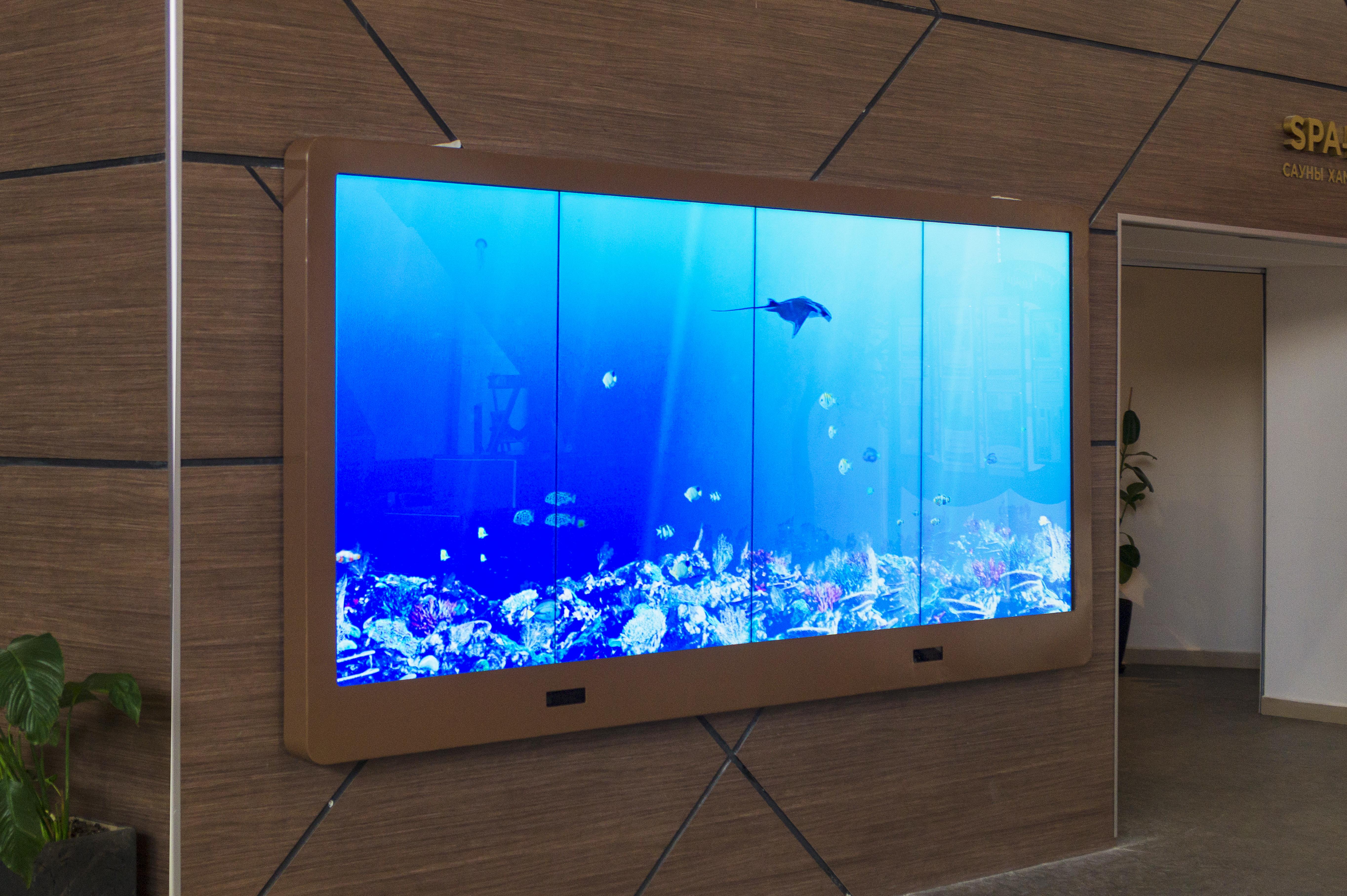 Видеостена-аквариум