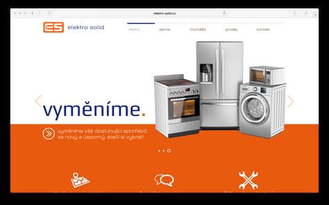 Elektro Solid - nové webové stránky