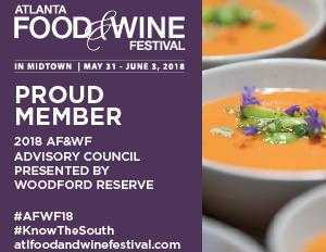 Chef Syrena Johnson will be one of 2018's Atlanta Food and Wine Festival Advisory Council Member