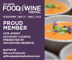 2018's Atlanta Food and Wine Advisory Council Member Chef Syrena Johnson!