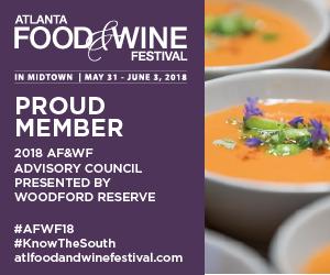 2018's Atlanta Food and Wine Advisory Council Member Chef Syrena Johnson!