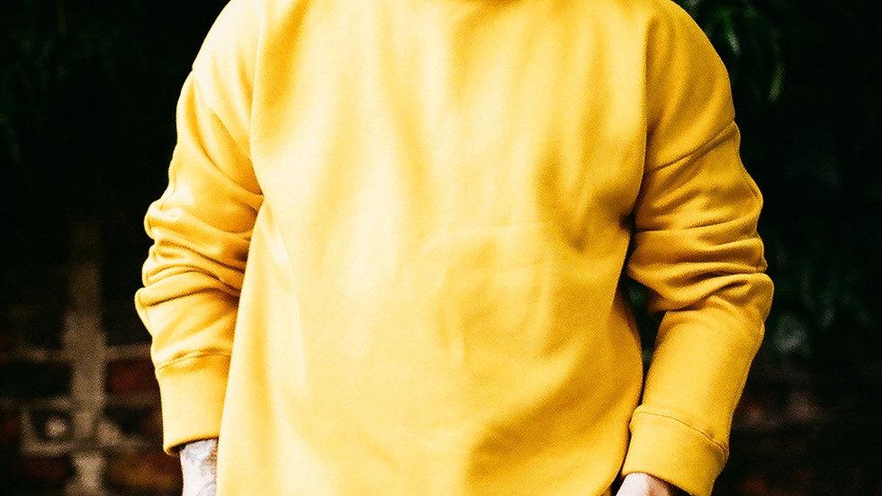 Mustard Fleeceback Jumper