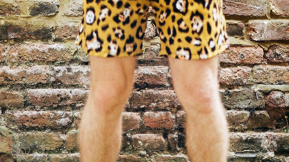 Cotton Leopard Shorts!