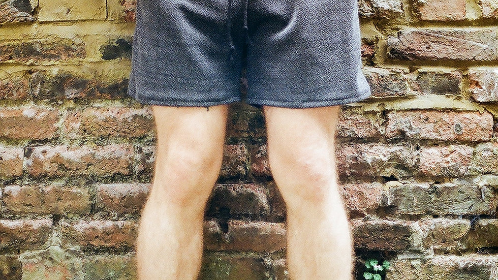 Grey-speckled Jersey Shorts