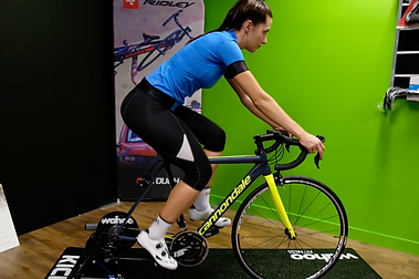 Bike fitting at AQ Bike Mount Gravatt, Brisbane