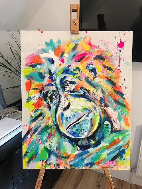 Neon Orangutan