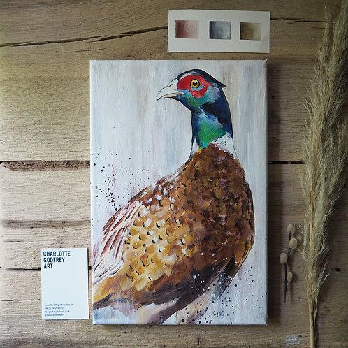 proud pheasant (30x20cm)