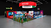 Crowd Culture Nintendo Pax Stand