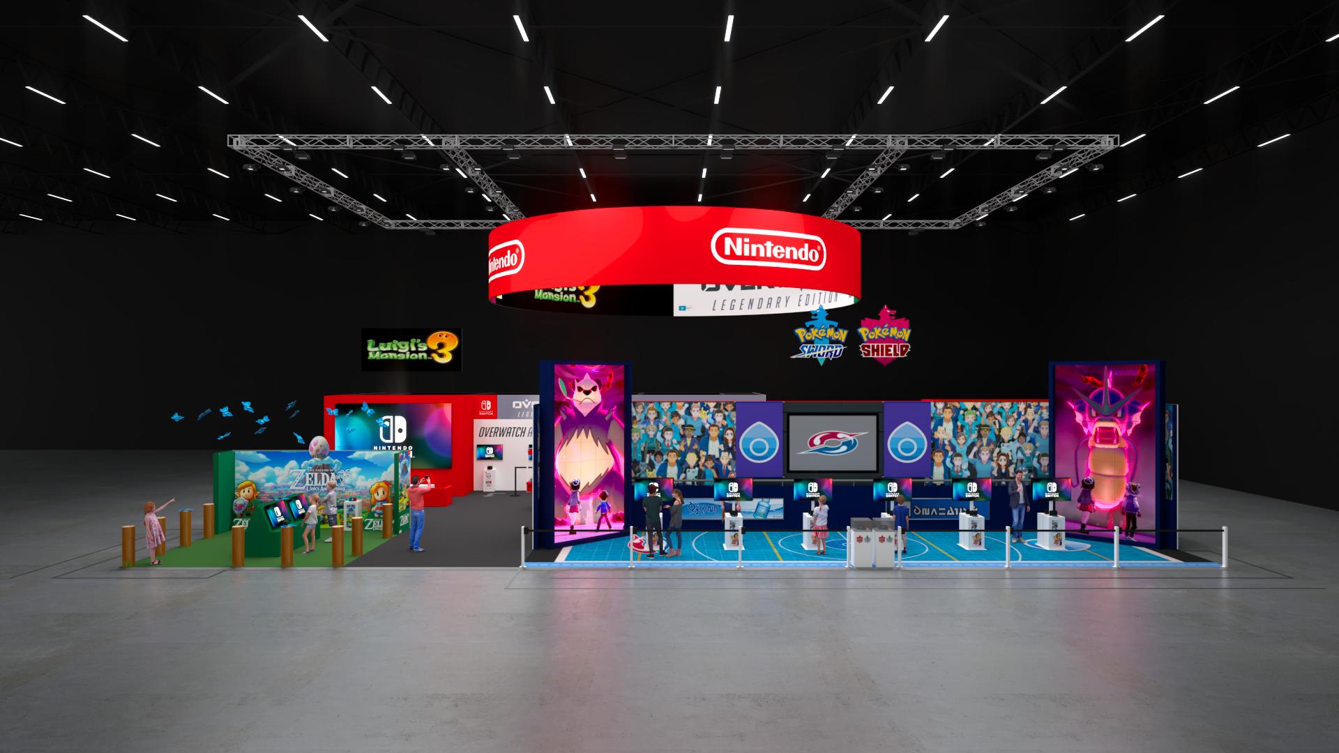 Crowd Culture Nintendo PAX 2018