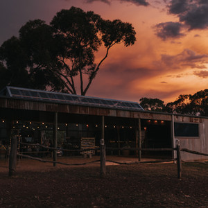 The Stables at Dusk
