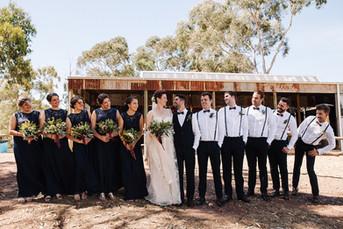 Simon & Kyanna - Wedding Party