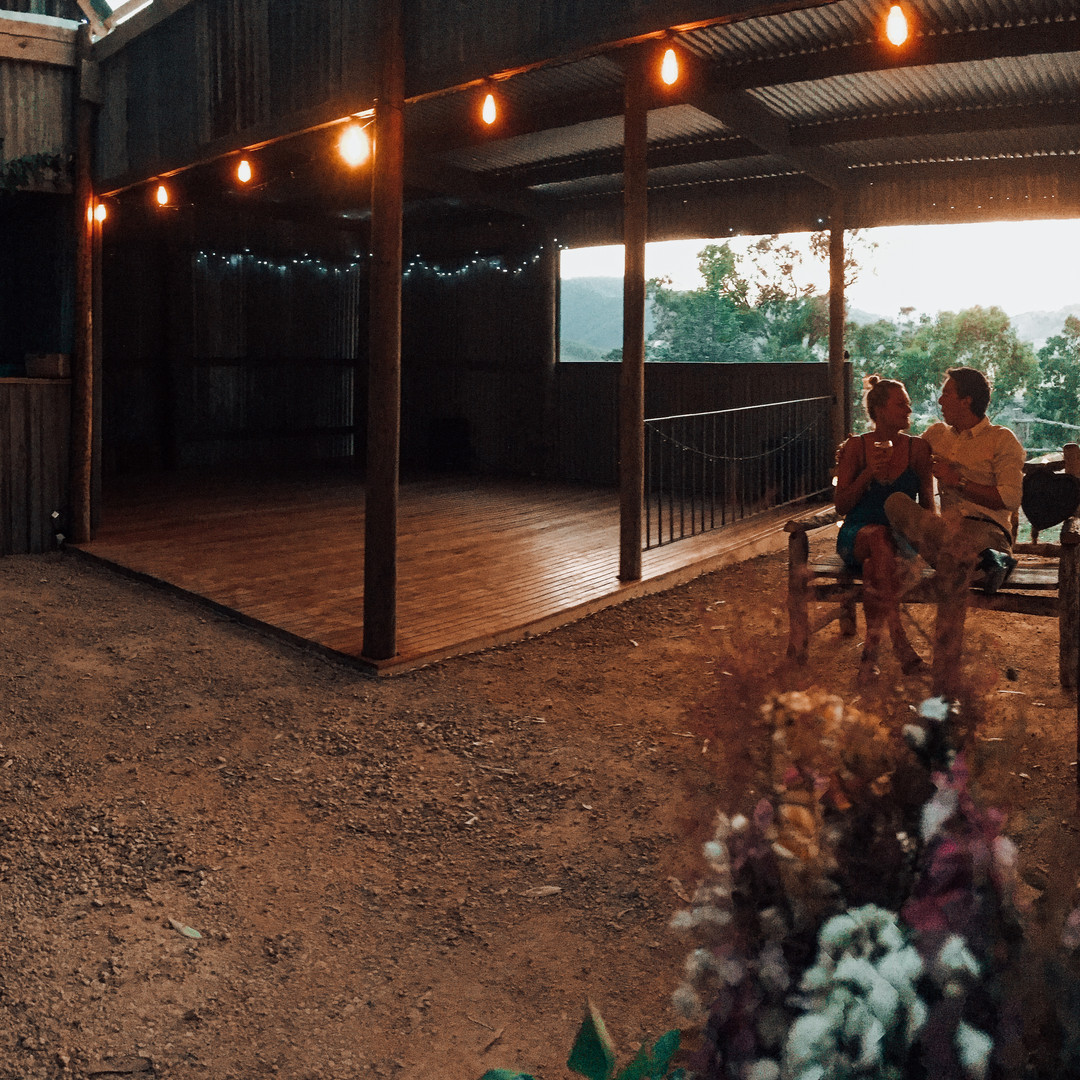 The Shed At Dusk