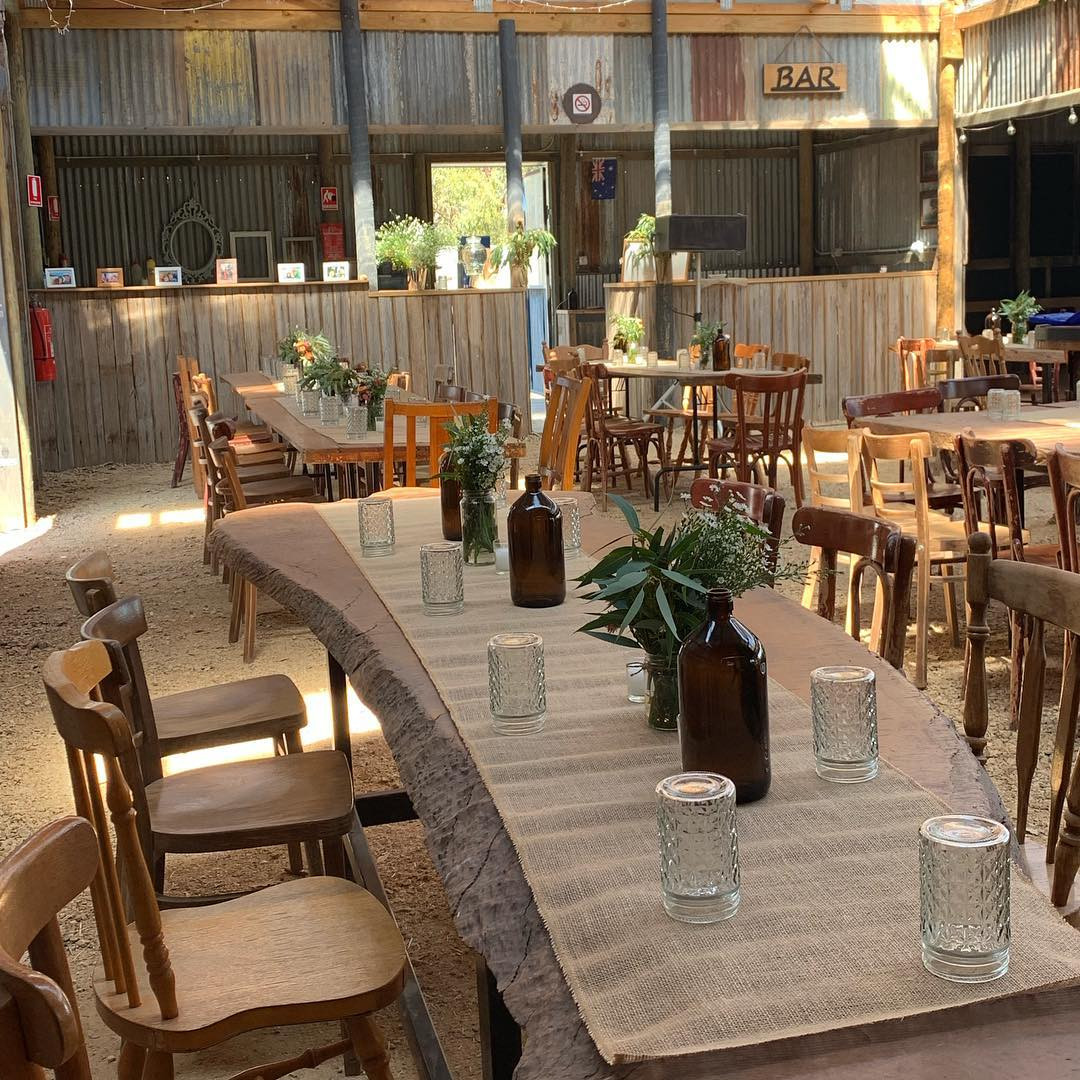 Reception Tables - The Shed