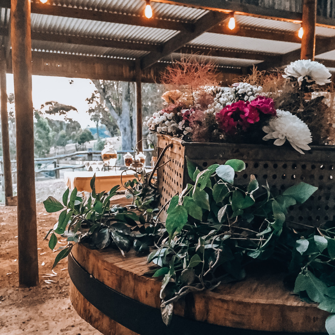 The Shed - Floral Decorations