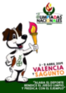 Cartel II Olimpiadas FESD_Valencia_Sagun
