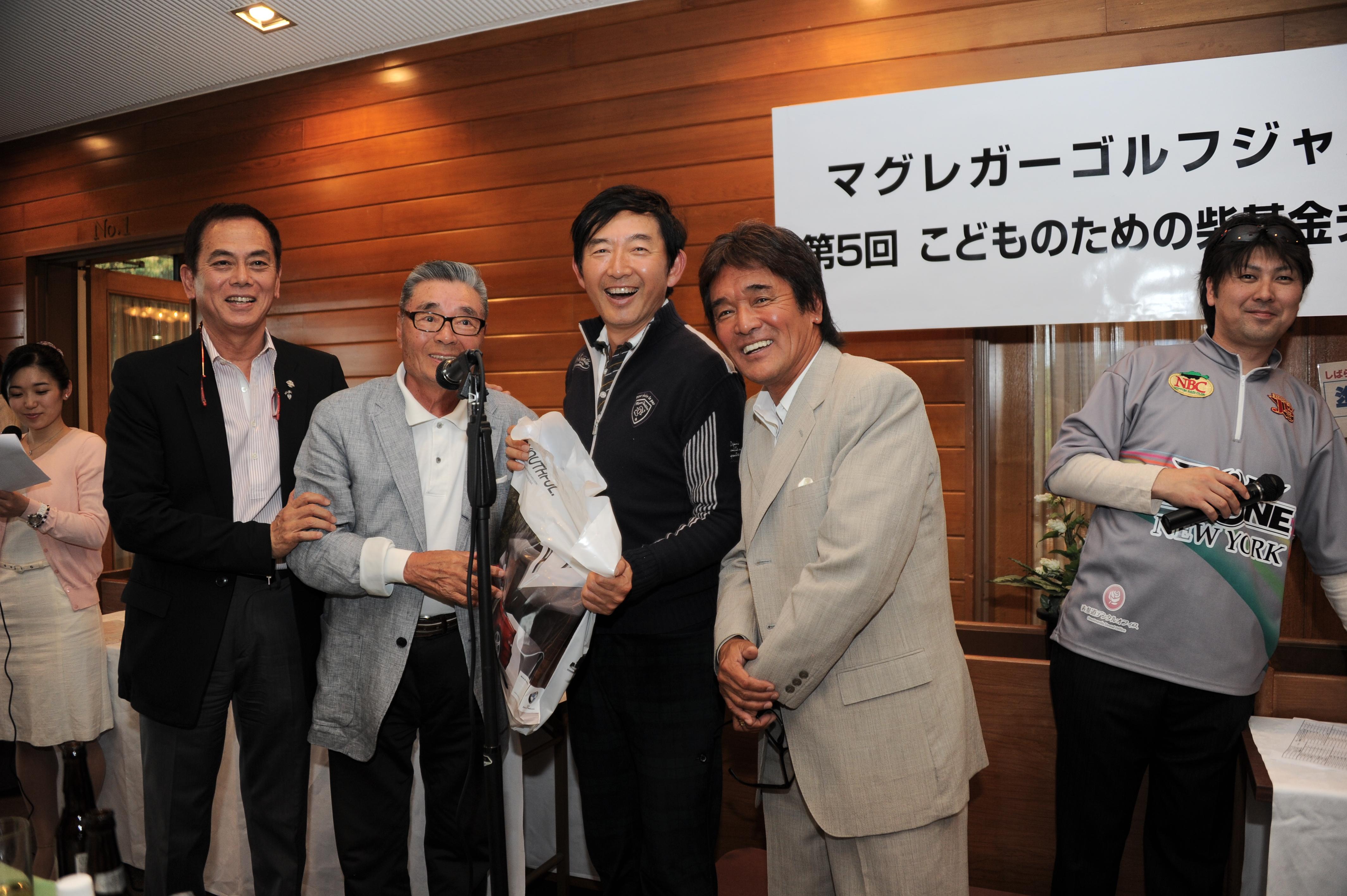 第5回チャリティーゴルフコンペ at 泉カントリー倶楽部