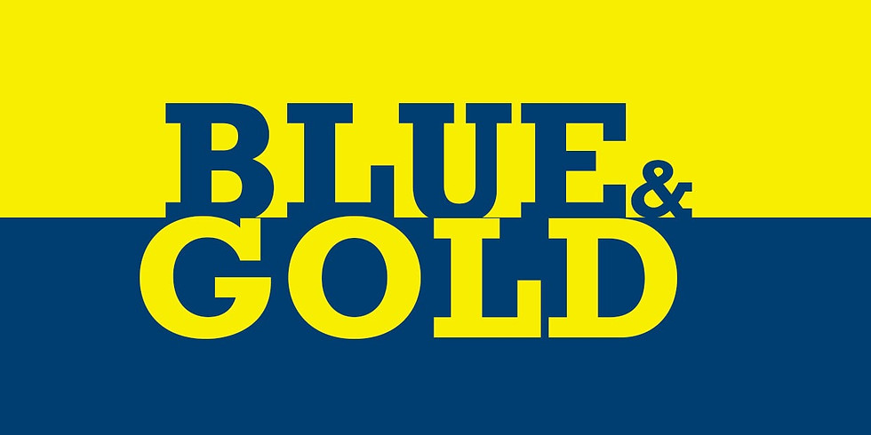 Blue and Gold