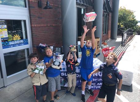 Slinging Popcorn at Kroger- great Weekend to work towards that popcorn goal
