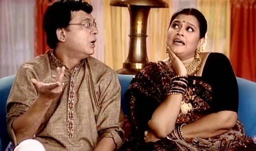 Praful and Hansa From 'Khichdi'