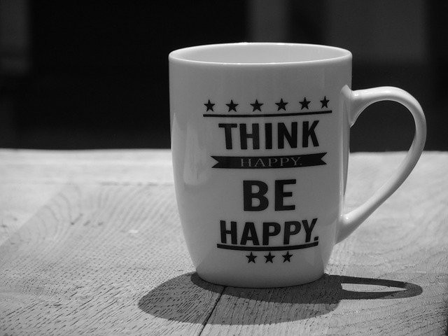 Be Happy. Think Positive