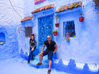 Singaporeans Abroad - African Adventure Series (1.3) Chefchaouen - Africa's Answer To Santorini