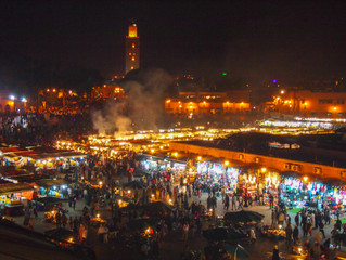 Singaporeans Abroad - African Adventure Series (1.1) Marrkech, Morocco - Dizzying souks, smelly tann