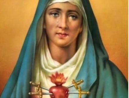 Our Lady of Sorrows - Message from Fr. A Wilson Andrade, CSC