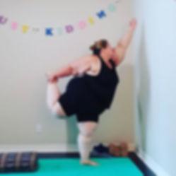Dancer Pose_(Natarajasana)_(Yoga For Eve