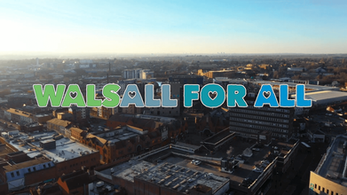 Video campaign launched to encourage communities to share Walsall for All vision