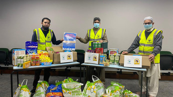 Volunteering efforts of Aisha Mosque brings much needed support to Walsall's vulnerable residents