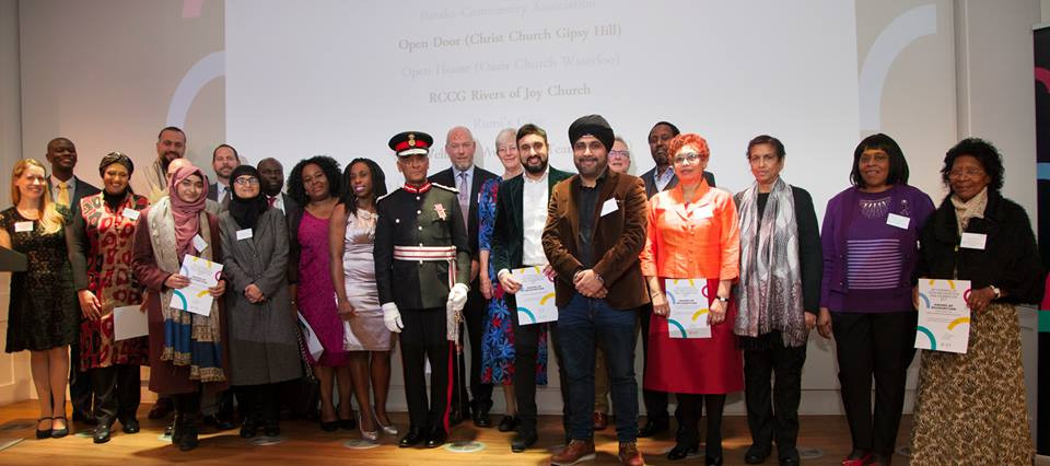 Photo from London Community Awards 2017, organised by Faith and Belief Forum
