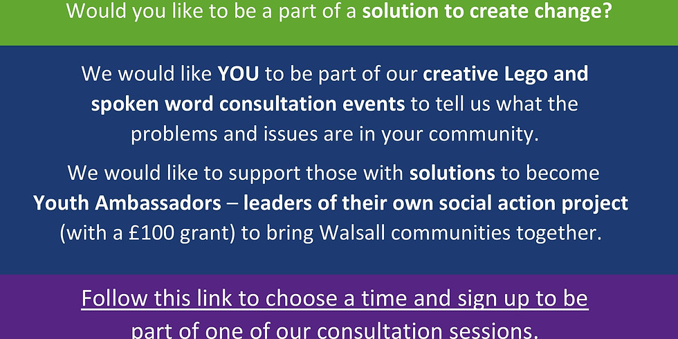 Your Voice Now - Creative Consultation (Schools/Colleges)
